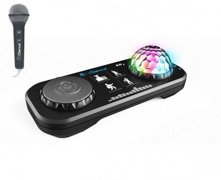 Party Mix XD1 - konsola małego DJ'a z mikrofonem oraz kulą Disco